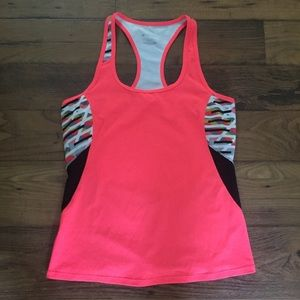 Fabletics Neon Racerback Athletic Workout Tank